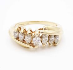 Elegant-Store-C Big CZ Cubic Rose Gold Color Rings for Women Fashion Jewelry Day Gift Fashion Ring