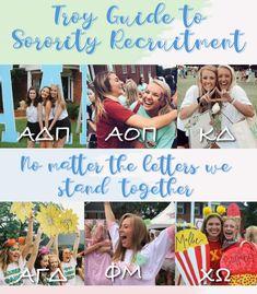 2019 Sorority Recruitment Guide