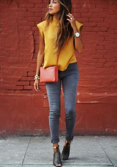 What to Wear with Grey Jeans: A Rainbow of Possibilities – The Petite Shop