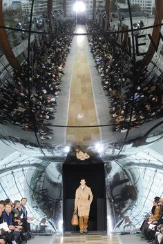 Louis Vuitton during Paris fashion week. The above photo comes from LV's men's fall 2012 catwalk.