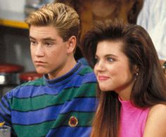 zack and kelly. saved by the bell
