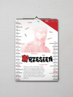 Patriotic Calendar - September on Behance