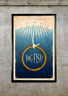 Big Fish 11x17 Movie Poster by adamrabalais on Etsy, $20.00