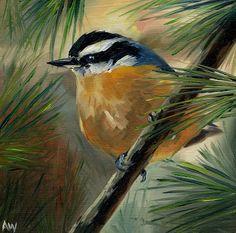 Alyssa's Painting a Day: Birds so far