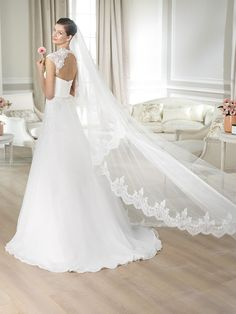 White One Collection 2014 by Pronovias, coming soon this September. - Bianco Puro