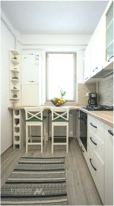 49 Small Kitchen Concepts That Will Make You Really feel Roomy Boho Kitchen, Home Decor Kitchen, Kitchen Styling, Kitchen Interior, Kitchen Ideas, Kitchen Small, Booth Seating In Kitchen, Apartment Kitchen Organization, Building A New Home