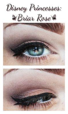 Briar Rose aka Aurora aka Sleeping Beauty inspired makeup.