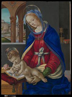 Madonna and Child - Filippino Lippi
