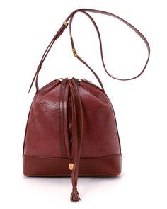 Cartier Red Shoulder Bag - Vintage