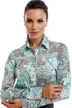 Camisa Arabescos Via Tolentino
