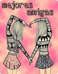 Amiga es esa persona que sabe hasta un hola es distinto eso solo las amigas lo saben #mejores amigas