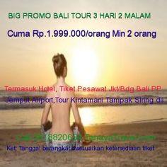 Wisata Bali 3 Hari 2 Malam Big Promo cuma Rp.1.990.000 termasuk tiket pesawat, hotel, antar jemput bandara hotel bandara, tour kintamani barongdance, ceruk silver, gunung danau batur, tampaksiring, sukowati art market, call 0818820654 http://tanayatravel.com
