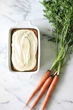 Carrot cake with vegan frosting | Flora & Fauna