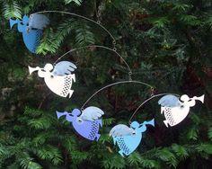 Five Angels Hanging Mobile  p r o t o t y p e  by MultiColori