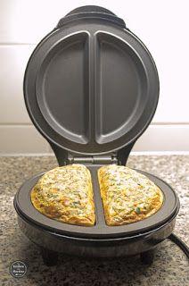 De keuken van Martine: Nasi-omelet uit de Omelet Maker