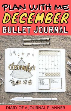 Plan your December Christmas-themed bullet journal spreads with this ultimate guide! #christmas #bulletjournal #planwithme #bulletjournalspreads #bulletjournalthemes Bullet Journal Entries, December Bullet Journal, Bullet Journal Monthly Spread, Bullet Journal Hacks, Bullet Journal Printables, Bullet Journal How To Start A, Bullet Journal Themes, Bullet Journal Layout, Bullet Journal Inspiration