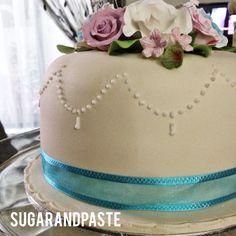 Wedding /hantaran cake from Sugar&Paste. Facebook: /sugarandpaste