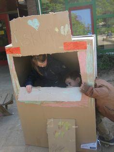 Ijskraam van grote doos (Schatkist de ijskraam van Jan en San)