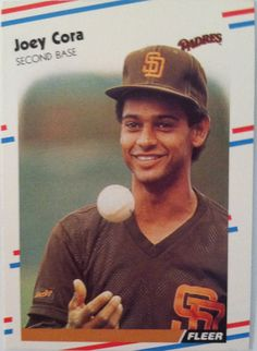 For years, I've had a strong dislike for former Major Leaguer Joey Cora. Cora was a round pick of the Padres in made his Major League debut in and played in San Diego until he was traded to the White Sox in March I went to a lot of Padres games at… San Diego Padres, Major League, Baseball Cards, Sports, Ebay, Peeps, Career, Mint, Popular