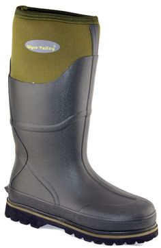 Mens Wyre Valley Waterproof Grip Sole Work Wellington Boots Shoes Size 6-12