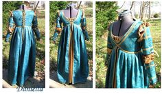 Italian Renaissance Dress by silverstah.deviantart.com on @deviantART Maybe this color for Bianca. Not necessarily the style.