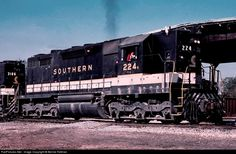 RailPictures.Net Photo: SOU 224 Southern Railway EMD SD35 at Opelika, Alabama by Bernie Feltman