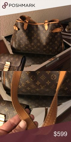 Authentic Louis Vuitton Batignolles horizontal Authentic Louis Vuitton Batignolles horizontal. In amazing condition. Darker patina. Great for an every day bag. Will add more photos for serious buyers. Louis Vuitton Bags Shoulder Bags