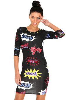Troika Comic Book Dress