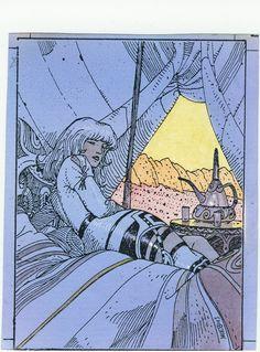Inspirations: Moebius, Jean Giraud, illustrator