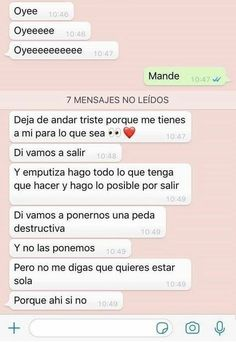 Love Smile Quotes, Mood Quotes, Life Quotes, Love Phrases, Love Words, Quotes En Espanol, Tumblr Love, Love Text, Cute Texts