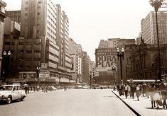 Pça. Ramos de Azevedo, 1966. Hagop G. São Paulo do Passado