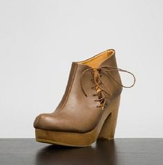 RACHEL COMEY SMUGGLER CLOG BOOTIES Lace Up Clogs Ankle Boots Anthropologie Shoes #RachelComey #Clogs #Any