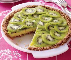 Kiwi Lime Pie #dessert #recipes #pie
