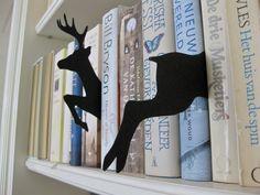 Hertjes boekensteunen