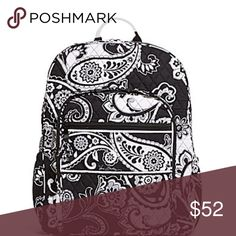 Vera Bradley Midnight Paisley Campus Backpack GUC will post other pics if requested! Vera Bradley Bags Backpacks