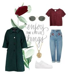"""""""Untitled #18"""" by redhead-from-denmark on Polyvore featuring Miss Selfridge, Ray-Ban, 2028, NIKE, Lowie, Monki and Accessorize"""