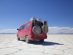 VW T4 Syncro from Barcelona on a South American tour