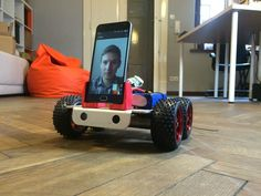 SpyBot - Internet-controlled robot with videostreaming - All