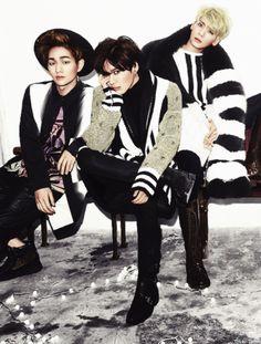 Onew, Taemin, Jonghyun
