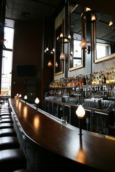 Bar lights @ Zero Zero, San Francisco - Fantastic!!!!