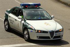 Alfa Romeo 159 - Policia Española