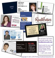 Any color real estate business cards girlboss pinterest real real estate business cards doing it better since 1993 reheart Images