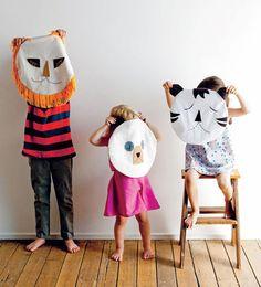 diy pillowcase masks - love