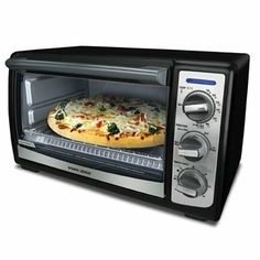 Black & Decker Toast-R-Oven « Blast Gifts Black 4 Slice Toaster, Best 4 Slice Toaster, Cooking Appliances, Specialty Appliances, Cooking Gadgets, Oven Canning, Keep Food Warm, Breakfast Toast, Pizza Bake