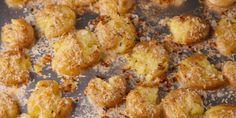 Smash your heart out. Garlic Parmesan Smashed Potatoes.