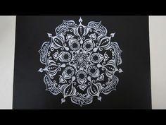 Zentangle #14 * Zeitraffer - YouTube. An youtuber worth following