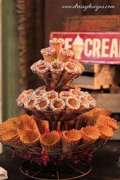 Ice Cream Parlor, ice cream, toppings, ice cream cones Dressy Designs