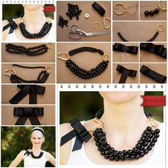How to make Necklace of beads or pearl step by step DIY tutorial instructions, How to, how to do, diy instructions, crafts, do it yourself, diy website, art project ideas