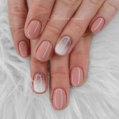 40 brand new designs for short nails not to be missed in spring and summer, ., 40 brand new short nail designs not to be missed in spring and summer 16 fantastic trendy nail art ideas for 2019 - recipes - # gorgeous # for Trendy Nail Art, Stylish Nails, Short Nail Designs, Nail Art Designs, Natural Nail Designs, Acrylic Nail Designs, Spring Nails, Summer Nails, Summer Nail Polish