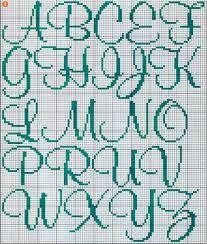 Resultado de imagem para monograma ponto cruz letras hot wheels